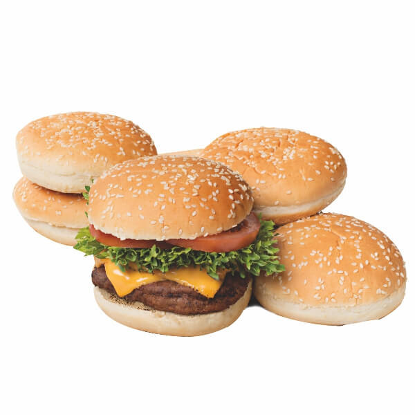 Hamburger Roll 5 inches
