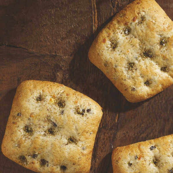 Mediterranean Bread Bun