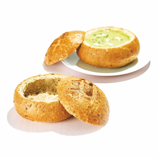 Ary Soup Salad Bread