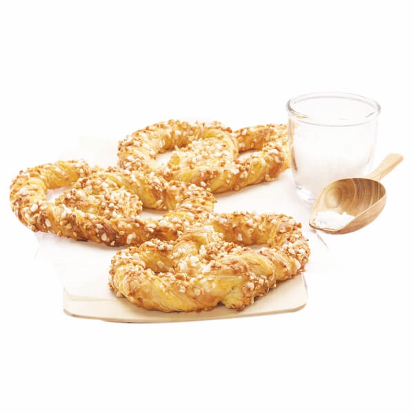 Almond & Custard Cream Pretzel