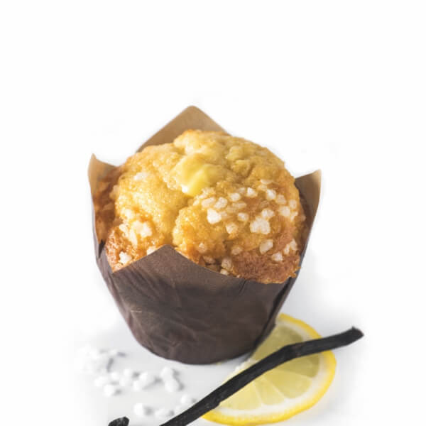 Muffin Vanilla Lemon