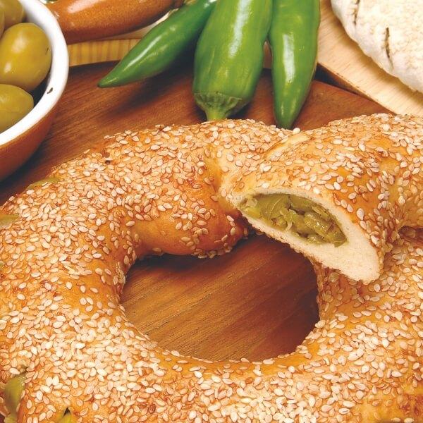 Koullouri Green Olives