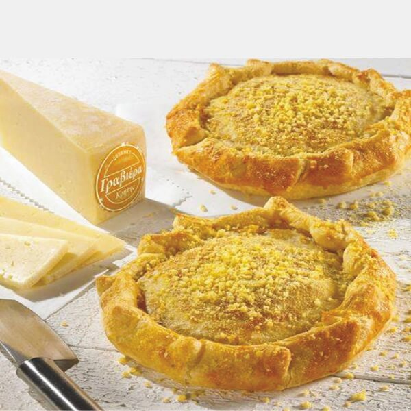 Hand Made Crete Graviera Pie